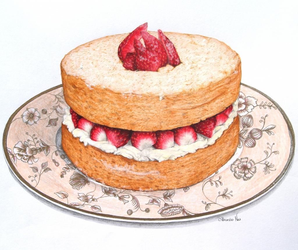 Sponge Cake clipart Beat Cake  Victoria art