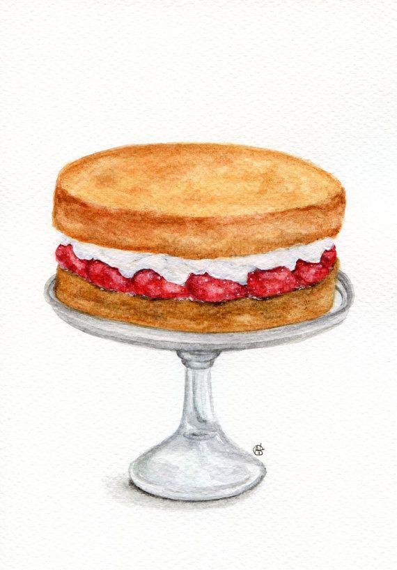 Sponge Cake clipart Sponge Cakes 653 ORIGINAL A5