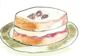 Sponge Cake clipart Quia Victoria cake Victoria Sponge
