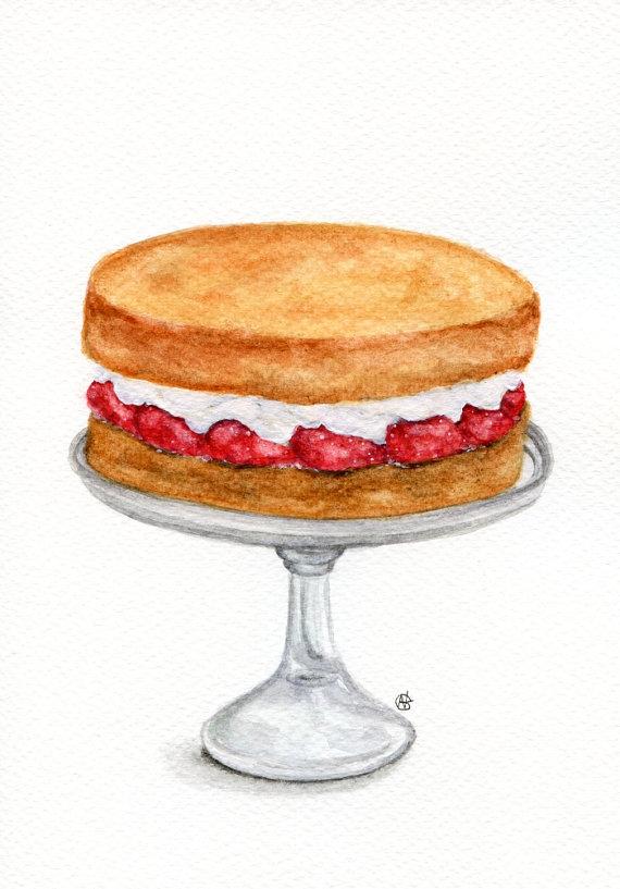 Sponge Cake clipart cartoon Cake of Life of Art: