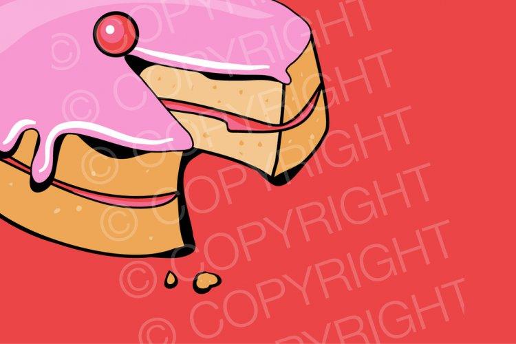 Sponge Cake clipart cartoon Jam Clipart Cake Free Cartoons