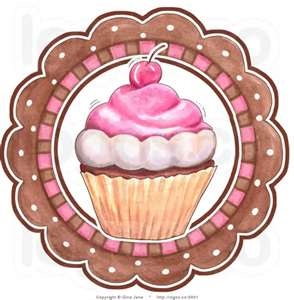 Frosting clipart cupcake logo ❤ more on Cupcake Find