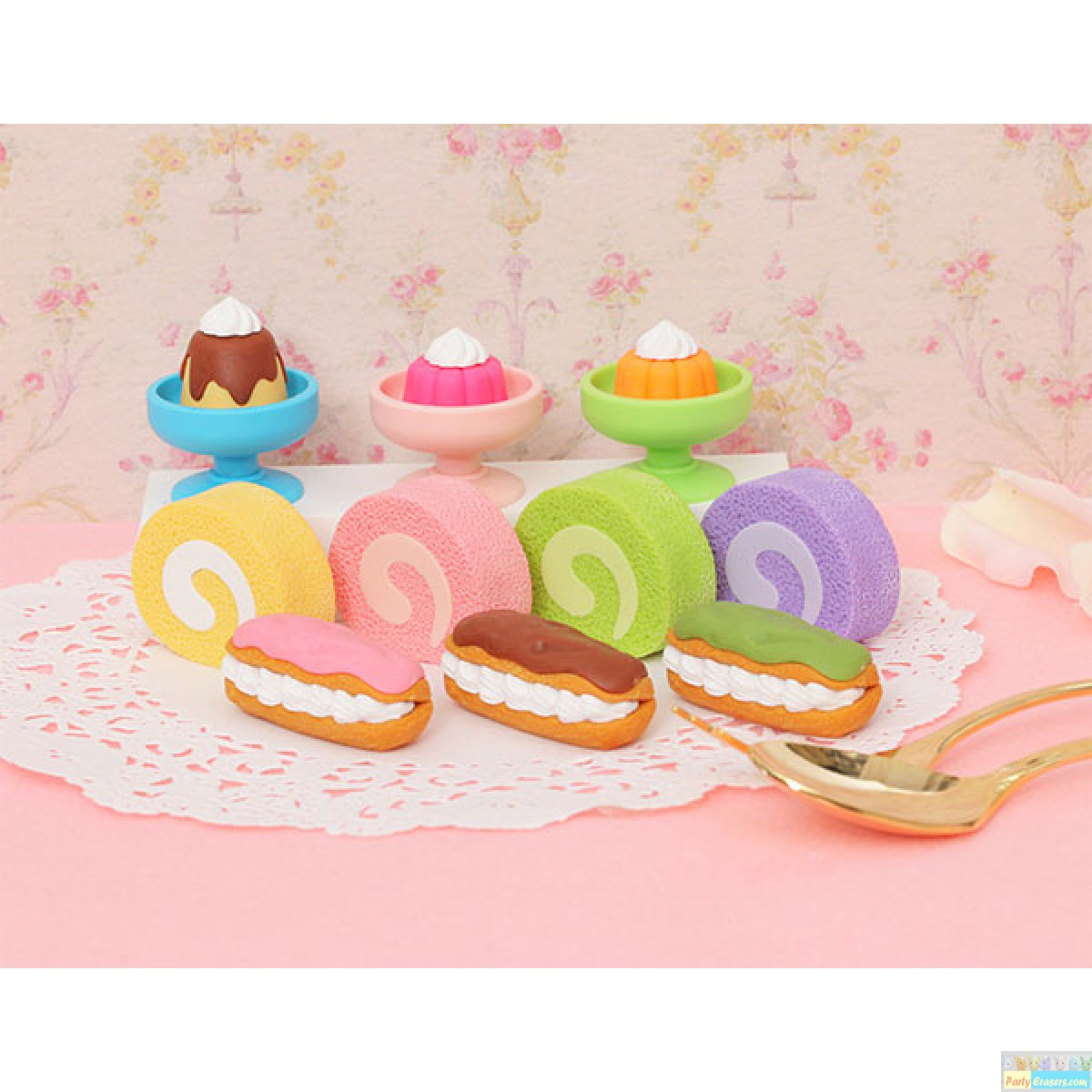 Sponge Cake clipart party food And and japanese pudding creammy