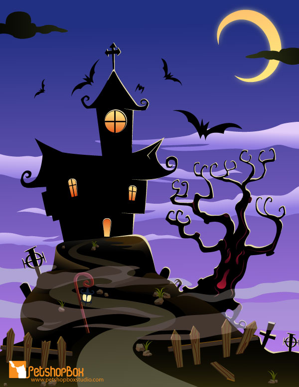 Spooky clipart background Halloween clipart Halloween Free Download