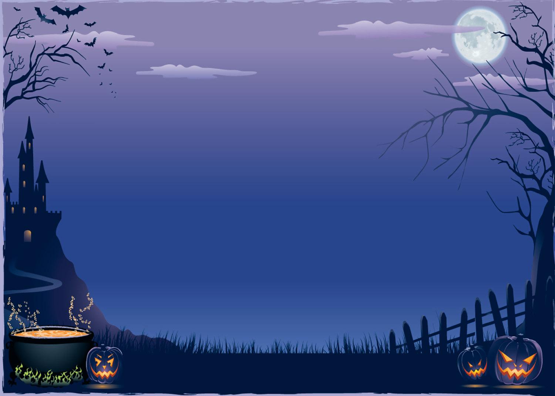 Spooky clipart background Jpeg x 1500 Halloween Gallery