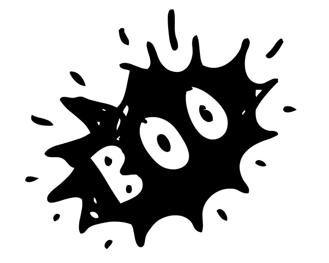 Spooky clipart boo Its Overflowing @ItsOverflowingBlog Free Prints