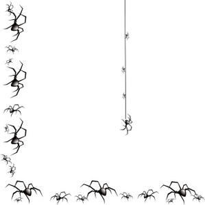 Zombie clipart border Halloween border border 2 spider