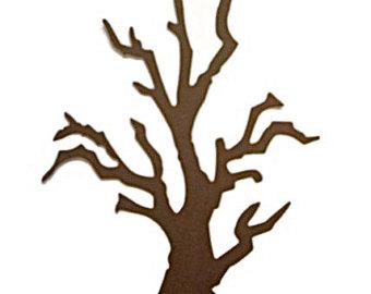 Spooky clipart branch On Art tree Clip trunk