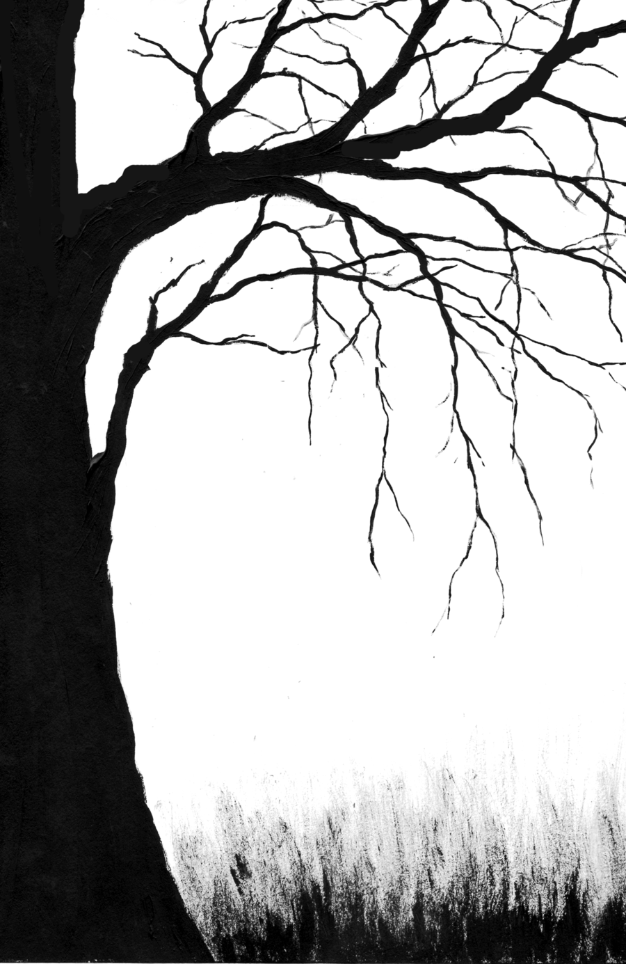 Spooky clipart branch Tree Creepy on Art Download
