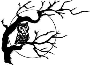 Spooky clipart branch  clip vector On online