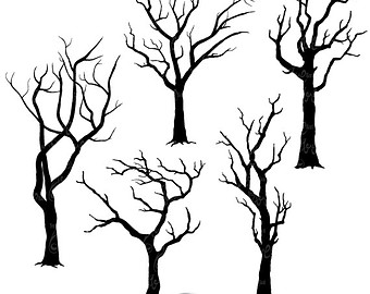 Spooky clipart branch Art Clip items  Free