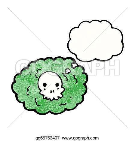 Spooky clipart cloud Gg65763407 cartoon Illustration cloud Vector