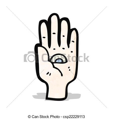 Spooky clipart finger Vector eye Clip seeing spooky