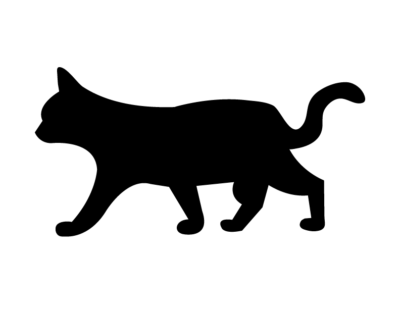 Spooky clipart halloween black cat Download Scary Free Cat Art