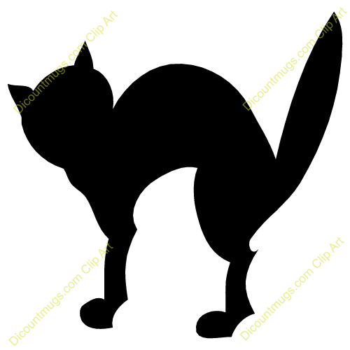 Spooky clipart halloween black cat Free Halloween Clipart Images Cat