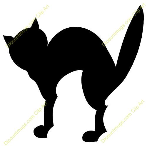 Spooky clipart halloween black cat Clipart Black Free Clipart Halloween