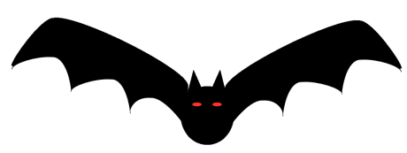 Shadow clipart bat #9