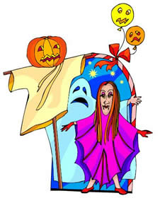 Spooky clipart halloween kid Free a 2; of a