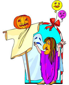 Spooky clipart halloween kid Clipart 2; of gallery a