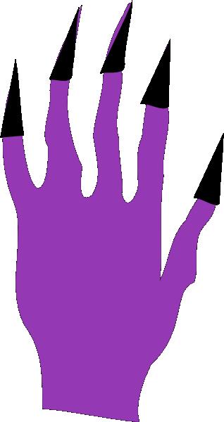 Spooky clipart hand Halloween at com Clker Art