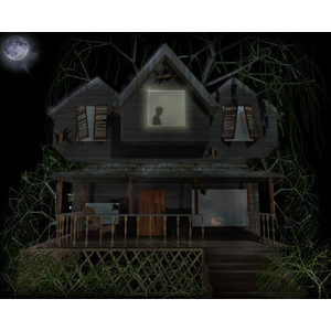 Spooky clipart haunted mansion Clip Scary Clip 15: Haunted