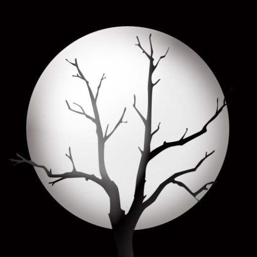 Spooky clipart moon Cliparts Cliparts Silhouette Zone Moon