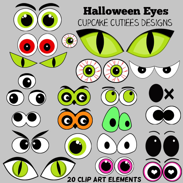 Witch clipart eye Of Halloween Eyes wide eyes