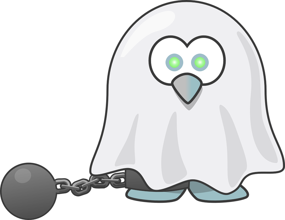 Ghostly clipart fears Tux Souls Spooky Fear photo