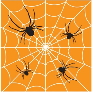 Arachnid clipart colorful Spiders creepy image Spider crawling