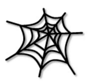 Scary clipart spider #12