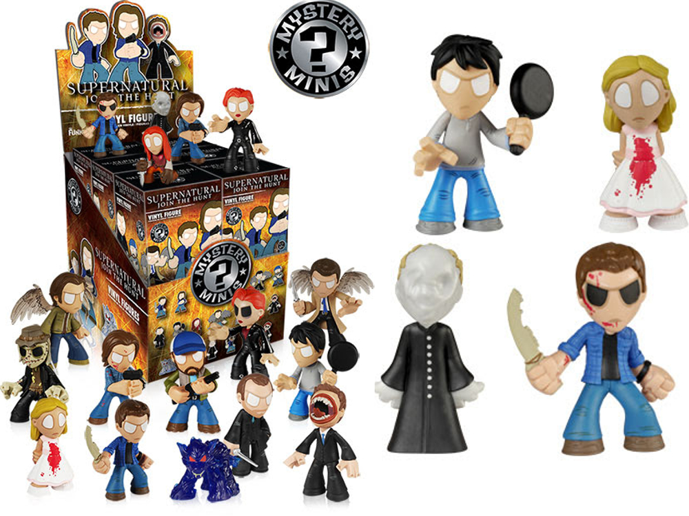 Spooky clipart supernatural  Funko Minis tomopop Mystery