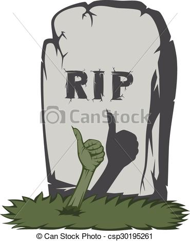Spooky clipart tombstone And of grave gravestone with