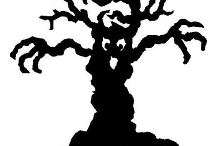 Spooky clipart tree That you clip Free Clipartsco