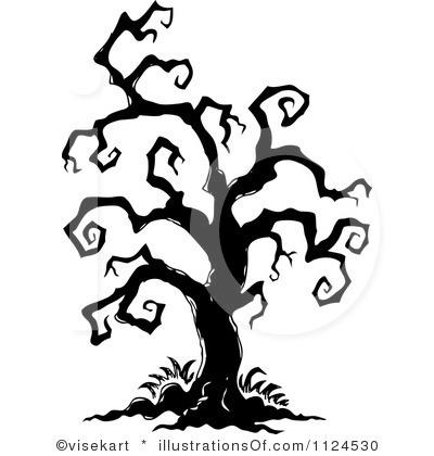 Spooky clipart tree Clipart Clipart Panda Tree Free