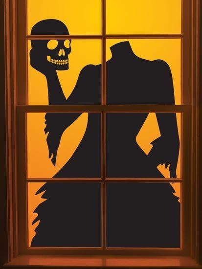 Window clipart spooky Silhouettes Halloween Pinterest Halloween 20