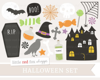 Spooky clipart witch house Clipart House Candy Web Halloween
