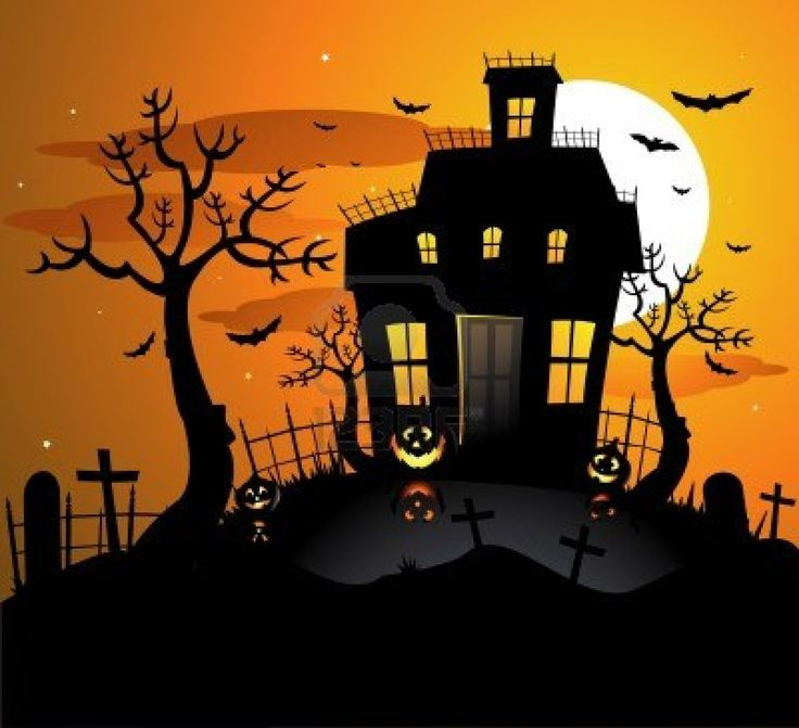 Spooky clipart witch house Haunted 8667353 images Pinterest halloween