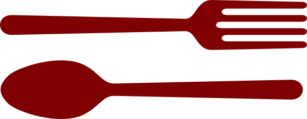 Cutlery clipart red The Cliparts Spoon Clip And