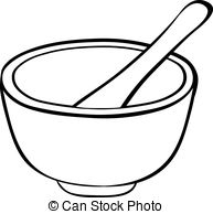 Bowl clipart bowl spoon And Illustrations 751 bowl vector