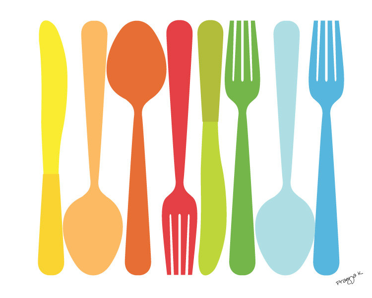 Cutlery clipart border For 750x600 clipart fork 53KB