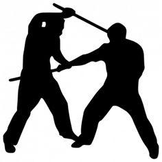 Sport clipart arnis Search silhouette Google silhouette eskrima
