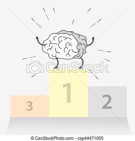 Sport clipart brain  of sport Logo of
