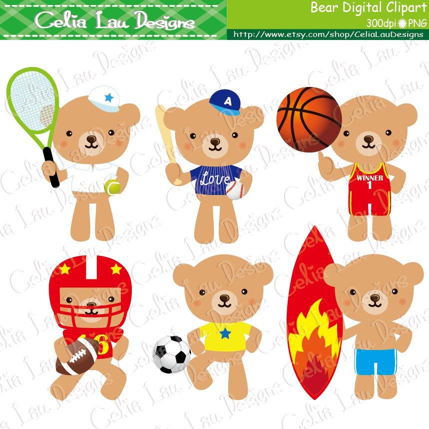 Sport clipart cute Personal Sport CeliaLauDesigns Etsy Clipart
