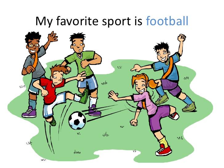 Sport clipart favorite My sport favorite