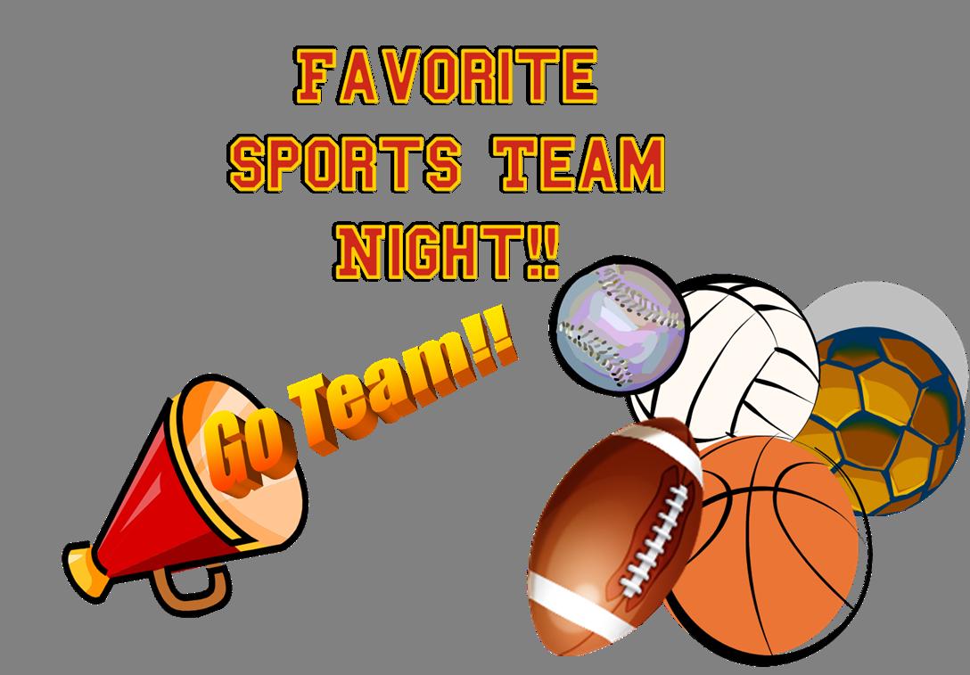 Sport clipart favorite Team AWANA Night Sports Favorite
