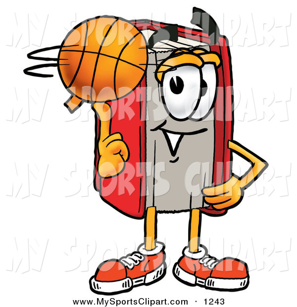 Sport clipart finger Happy Clip a Red on