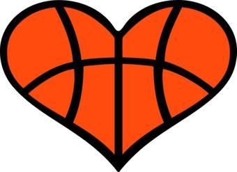 Sport clipart heart Clipart Basketball kid kid clipart