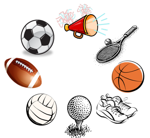 Club clipart high school sport High Sports Board Score High