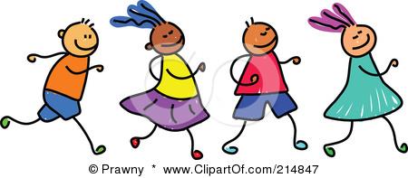Racing clipart kids run Children images running running children