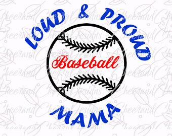 Sport clipart proud Shirt Svg SVG Baseball Loud